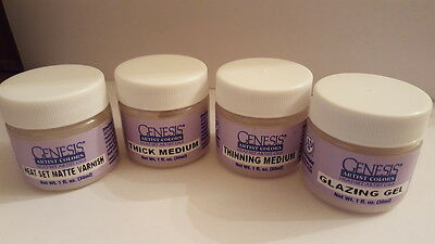 Genesis Mediums 5ml tubs choose from drop down menu