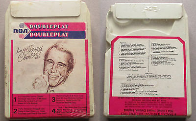 here is perry como vol 2   8 TRACK CARTRIDGE TAPE RCA DPMB 1023