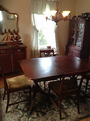 duncan phyfe  style 7 piece dining room set