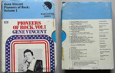 pioneers of rock vol 1 Gene Vincent   8 TRACK CARTRIDGE TAPE EMI 8x-exe 41