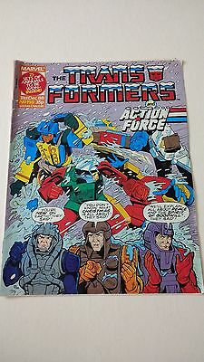 The Transformers Issue 198 UK Comic