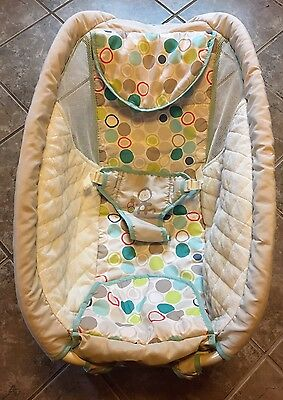 Ingenuity Rock & Dream Replacement cradle baby bed and cover
