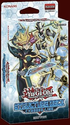 Yu-Gi-Oh 3x Cyberse Link Structure Deck FREE & FAST SHIPPING