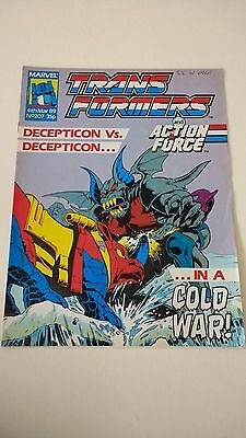 The Transformers Issue 207 UK Comic