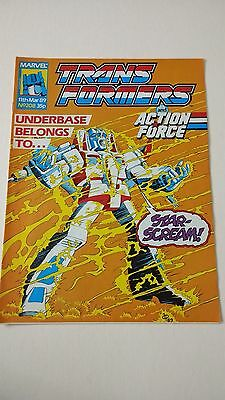The Transformers Issue 208 UK Comic