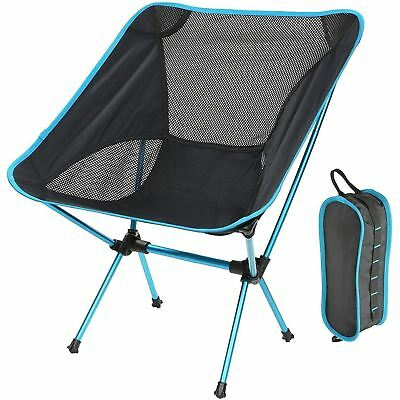 Ephram Lightweight Outdoor Portable Folding Camping Chair,Ultralight Heavy NEW!!