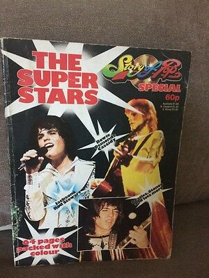 The Super Stars Story Of Pop Special Vintage 1970s Magazine David Bowie Beetles