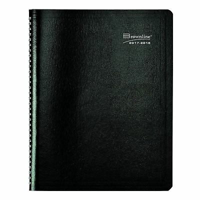 Brownline CA958.ASX-2018 2017-2018 Academic Weekly/Monthly Planner Soft Covers