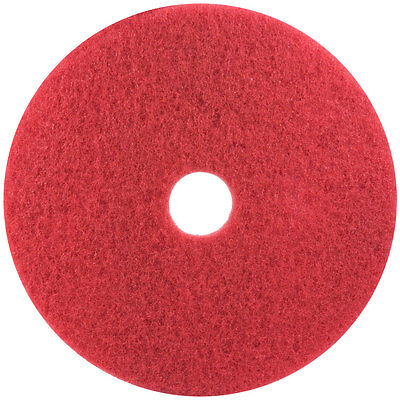 "5 3M 5100 16"" Red Buffing Floor Pads"
