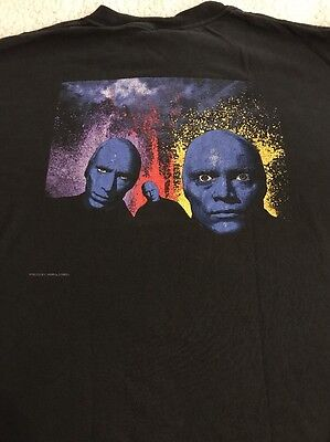 Blue Man Group Luxor Hotel & Casino Las Vegas T-Shirt Large EUC