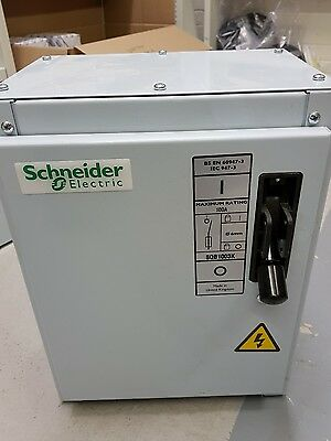 Schneider 100A Switch Fuse Quadbreak Isolator