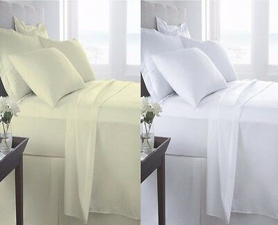 T400 DUVET COVER SET 100% Egyptian Cotton 400 Thread Count EGYPTIAN QUILT SET