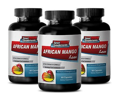Fast Weight Loss Capsules - African Mango Complex 1200mg - Acai Fruit 3B