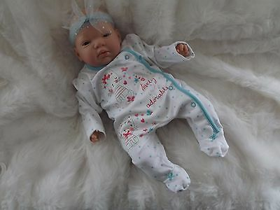 ADORABLE REBORN BABY DOLL Real Mottled Life Like Fake Child Girls Birthday Xmas