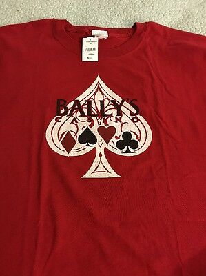 Bally's Casino Las Vegas Red T-Shirt 4XL NWT