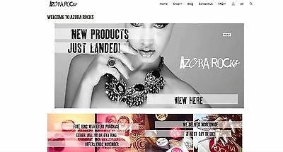 Online Fashion Jewellery Business Incl Stock Website & Suppliers