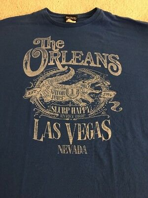 The Orleans Hotel & Casino Las Vegas T-Shirt X-Large EUC