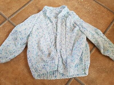 beauitful hand knitted cardigan 9-12 months