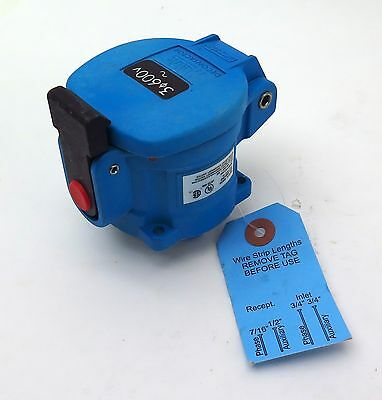 Meltric DS20 33-14143-4X Receptacle Decontactor 600V 20A 7.5 HP Free Shipping