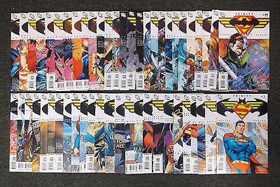 DC Trinity Comic Book set of 52 Total Issues Mostly NM+ #1-52 Wonder Woman