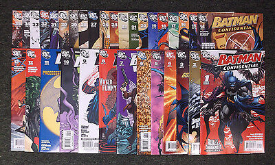 DC Collection Batman Confidential Modern Comic Book Lot of 33 Books Mostly NM+