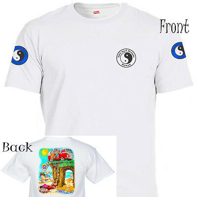 """T&C,Town and Country, """"Low Tide Stoned"""" White T-SHIRT Sizes: S-5X, T-1180 L@@K!!"""