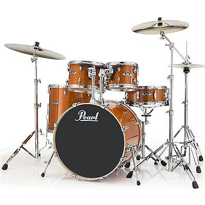 Pearl Export 5 PC. Drum Kit Shell Pack Honey Amber EXL725FPC249