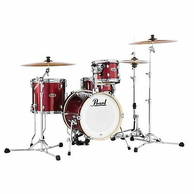Pearl MDT764PC704 Midtown Series 4-Piece Shell Pack - Black Cherry Glitter Finis