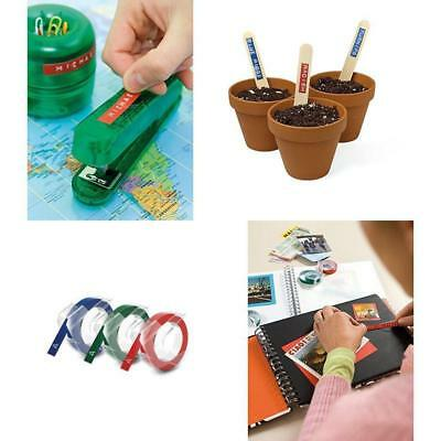 3 Pack DYMO 3D Label Maker Embossing 3/8 (9mm) Refill Tape Organizer Caption