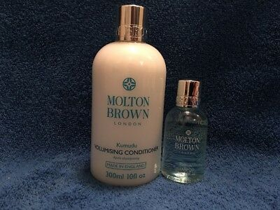 Molton Brown 300ml Kumudu + 100ml Templetree & Face Wash