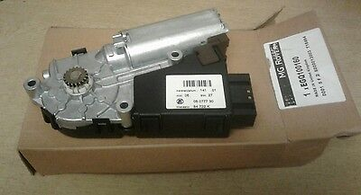 MGZT ROVER 75 SUNROOF MOTOR & DRIVE GEAR ASSEMBLY  (New Genuine MG)  EGQ100160