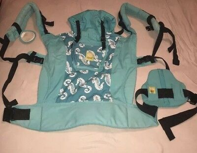 Lillebaby 6-in-1 Carry On Toddler Carrier SeaHorseRARE style Not Made Any More