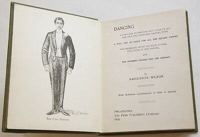 WILSON, Marguerite. Dancing a complete instructor and guide...