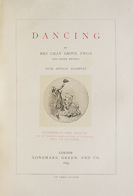 GROVE, Lilly: Dancing By Mrs Lilly Grove... and other writers...