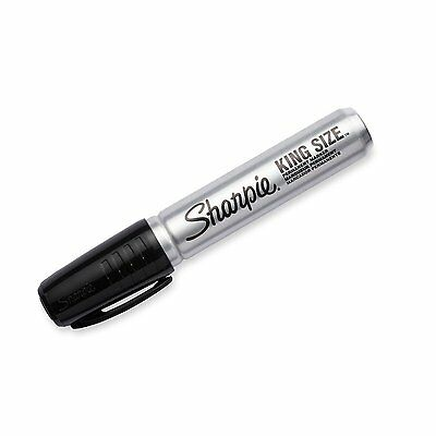 Sharpie  King Size Point Permanent Markers Chisel Various Colors, Flat Shipping
