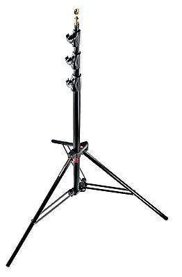 Manfrotto 1004BAC  - Alu Master Air-Cushioned Stand (Black, 12') - NEW