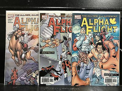 Lot of 3 Alpha Flight #3 4 5 (2004 Series Marvel) Combined Shipping Deal!