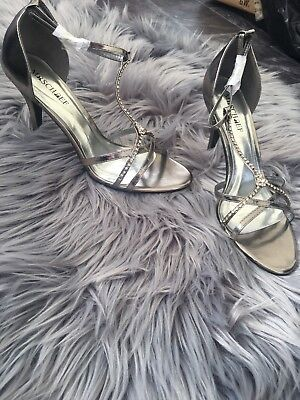 Mischief CLEO Pewter Shoes Size 10