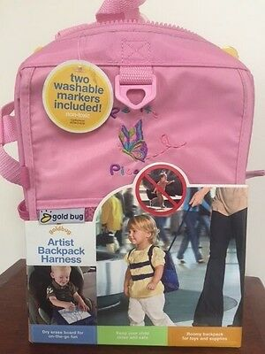 GoldBug 2:1 Artists Backpack and Harness NEW