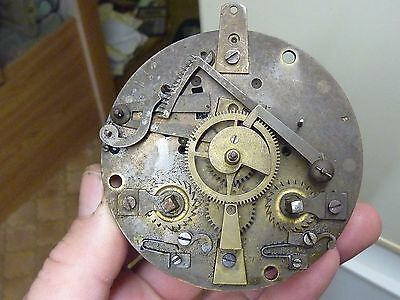 ANTIQUE FRENCH CLOCK STRIKING MOVEMENT - SPARES or REPAIR (SCR)