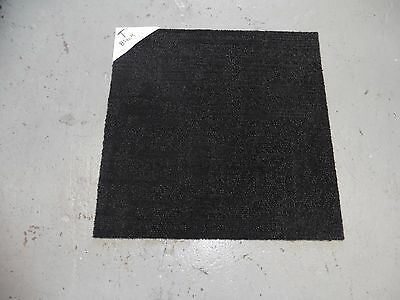 Carpet Tiles Black (T) Brisbane