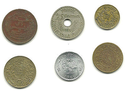 TUNISIA - Nice Group Lot, Various Coins - GREAT PRICE!