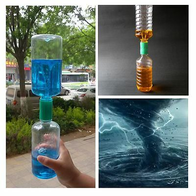 10 x Cyclone Tube Tornado Vortex In A Bottle Sensory Science Experiment Sensory