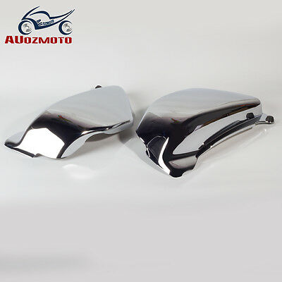 Hot Battery Side Fairing Cover for Honda Magna 750 VF750 VF750C 1994-2004 Chrome