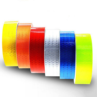 Safety Caution Reflective Tape Warning Tape Sticker self adhesive tape 5cm×3m