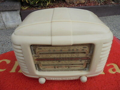"Astor Mickey Tube(valve) Radio Model ""QK"" Works! Posted by DHL !"