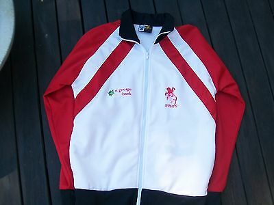 vintage nrl rugby league st george dragons authentic jacket small adult