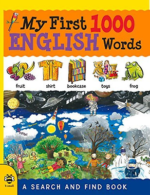 Bruzzone, C-My First 1000 English Words  (Uk Import)  Book New