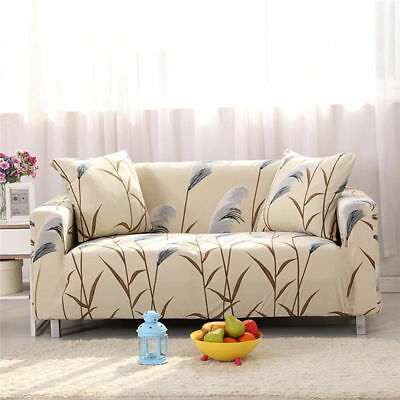 Stretch Sofa 1 2 3 Seater Protector Washable Couch Cover Slipcover Decor AU Sell
