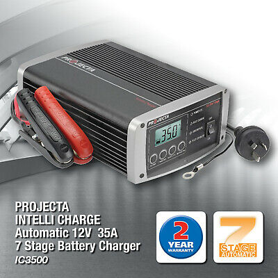 PROJECTA IC3500 INTELLI-CHARGE 7 Stage Battery Charger 12 Volt  AUTOMATIC